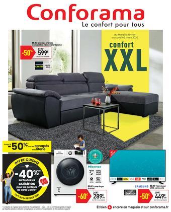 Conforama catalogue publicitaire (valable jusqu'au 09-03)