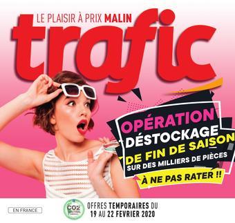 Trafic catalogue publicitaire (valable jusqu'au 25-02)