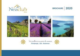 Neaclub catalogue publicitaire (valable jusqu'au 31-12)