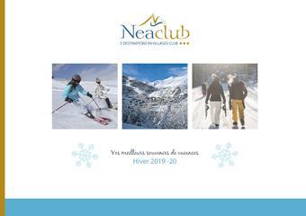 Neaclub catalogue publicitaire (valable jusqu'au 31-03)