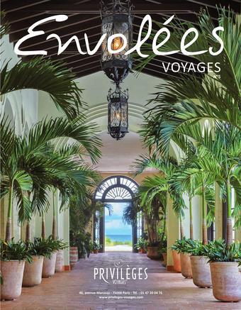 Privilèges Voyages catalogue publicitaire (valable jusqu'au 31-03)