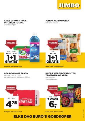 Jumbo Foodmarkt reclame folder (geldig t/m 25-02)