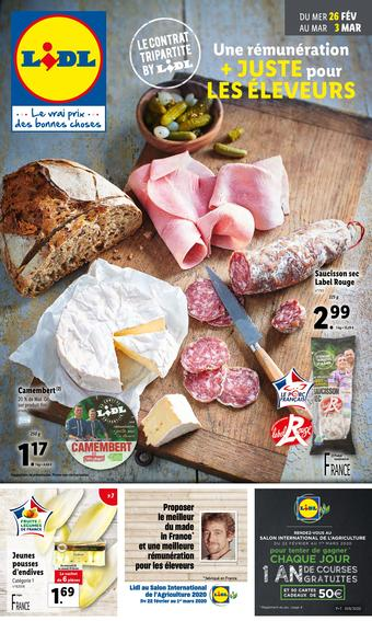 Lidl catalogue publicitaire (valable jusqu'au 03-03)