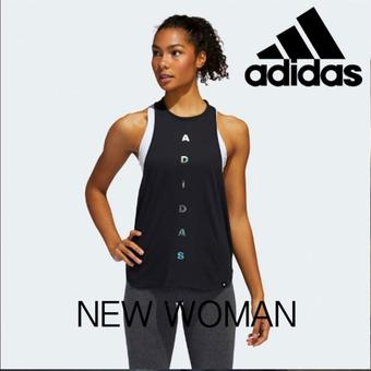 Adidas reclame folder (geldig t/m 30-03)