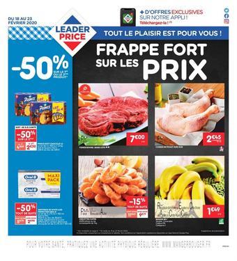 Leader Price catalogue publicitaire (valable jusqu'au 23-02)