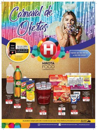 Hirota Food Supermercado catálogo promocional (válido de 10 até 17 02-03)