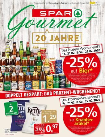 SPAR-Gourmet Werbeflugblatt (bis einschl. 26-02)