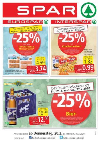 Spar Werbeflugblatt (bis einschl. 26-02)