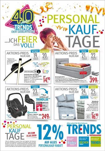 Trends Möbel Prospekt (bis einschl. 25-02)