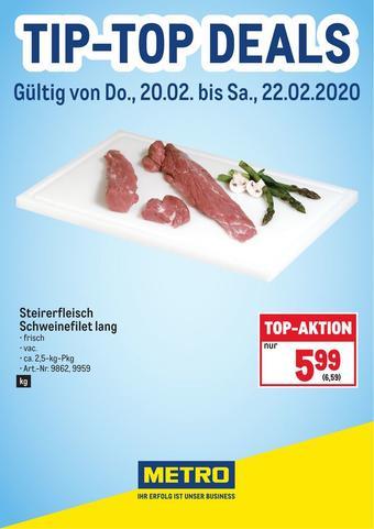 Metro Werbeflugblatt (bis einschl. 22-02)