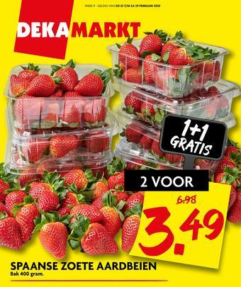 Dekamarkt reclame folder (geldig t/m 29-02)