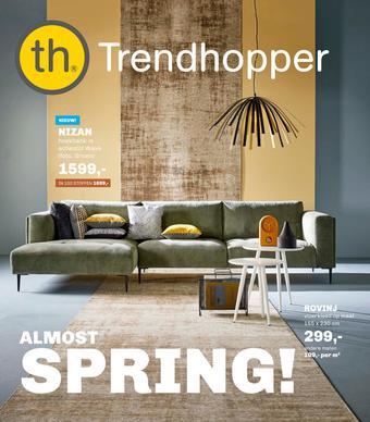 Trendhopper reclame folder (geldig t/m 22-03)