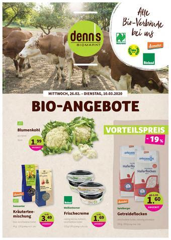 denn's Biomarkt Prospekt (bis einschl. 10-03)