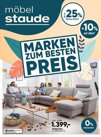 Möbel Staude Prospekt (bis einschl. 31-03)