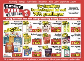 Budget Food reclame folder (geldig t/m 27-02)