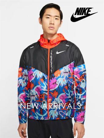 Nike reclame folder (geldig t/m 13-04)
