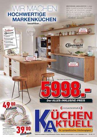 Küchen Aktuell Prospekt (bis einschl. 26-04)
