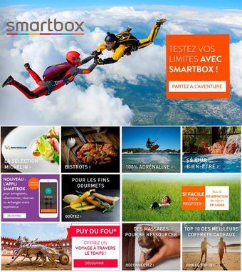 Smartbox catalogue publicitaire (valable jusqu'au 20-04)