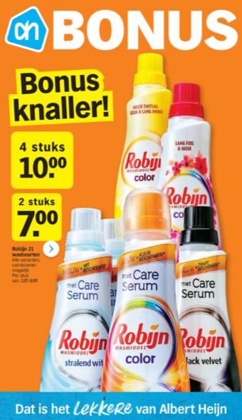 Albert Heijn reclame folder (geldig t/m 01-03)