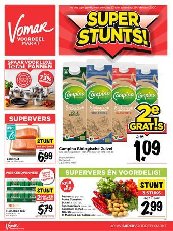 Vomar reclame folder (geldig t/m 29-02)