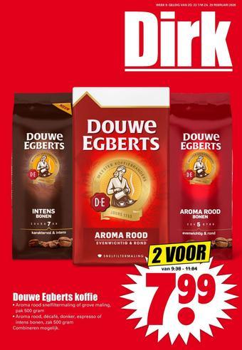 Dirk reclame folder (geldig t/m 29-02)