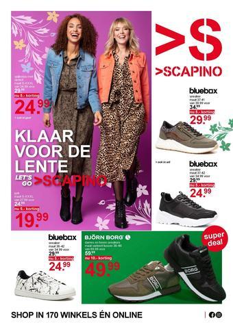 Scapino reclame folder (geldig t/m 08-03)