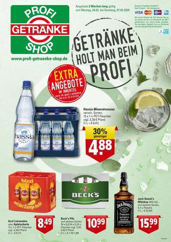 Profi Getränke Prospekt (bis einschl. 07-03)