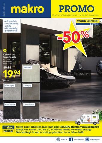 Makro reclame folder (geldig t/m 10-03)