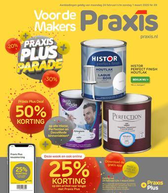 Praxis reclame folder (geldig t/m 01-03)