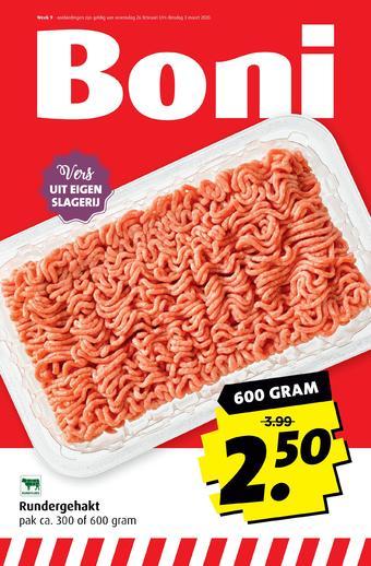 Boni reclame folder (geldig t/m 03-03)