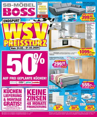 Möbel Boss Prospekt (bis einschl. 01-03)