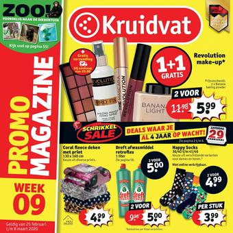 Kruidvat reclame folder (geldig t/m 08-03)