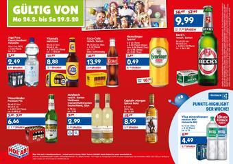 Hol'ab Getränkemarkt Prospekt (bis einschl. 29-02)