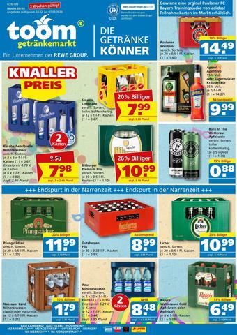 toom Getränkemarkt Prospekt (bis einschl. 07-03)