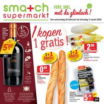 Smatch reclame folder (geldig t/m 03-03)