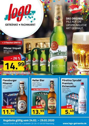 Logo Getränkemarkt Prospekt (bis einschl. 29-02)