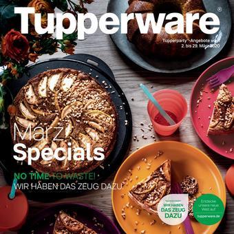 Tupperware Prospekt (bis einschl. 29-03)