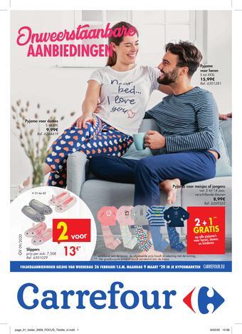 Carrefour reclame folder (geldig t/m 09-03)