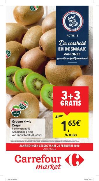 Carrefour Market reclame folder (geldig t/m 08-03)