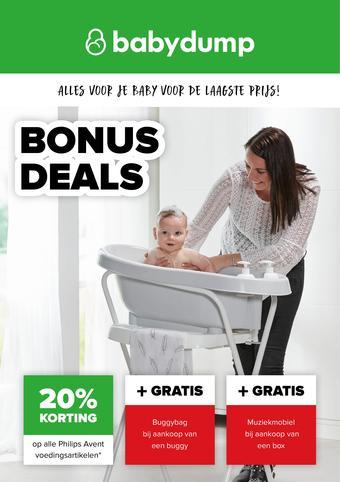 Baby-Dump reclame folder (geldig t/m 14-03)