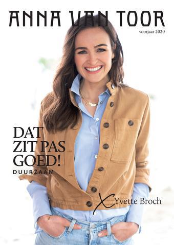 Anna van Toor reclame folder (geldig t/m 31-05)