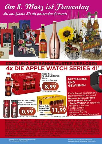 Getränke Huster Prospekt (bis einschl. 14-03)