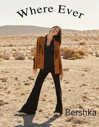 Bershka reclame folder (geldig t/m 13-04)