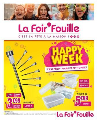 La Foir'Fouille reclame folder (geldig t/m 01-03)