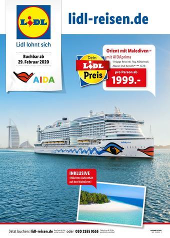 Lidl Reisen Prospekt (bis einschl. 31-03)