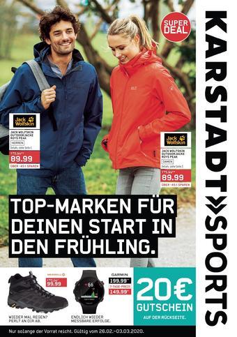 Karstadt Sports Prospekt (bis einschl. 03-03)