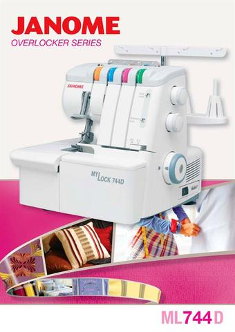 Janome catalogue (valid until 26-04)