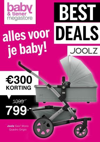 Baby & Tiener reclame folder (geldig t/m 14-03)