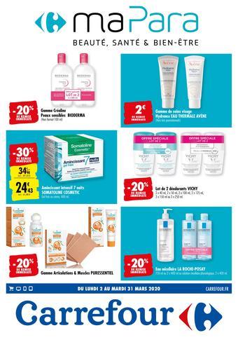 Carrefour catalogue publicitaire (valable jusqu'au 31-03)