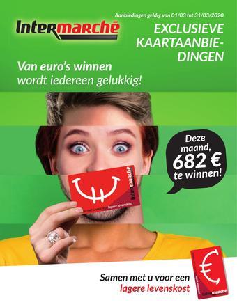 Intermarché reclame folder (geldig t/m 31-03)